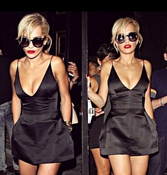 dress rita ora little black dress