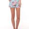 Melanie floral denim shorts - ellysage