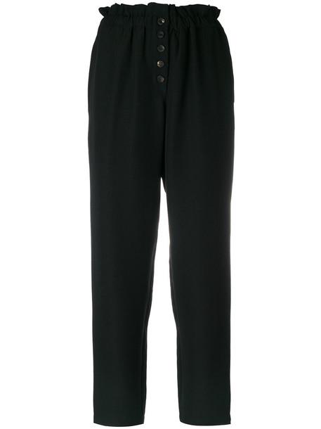 Ulla Johnson high waisted high women black pants