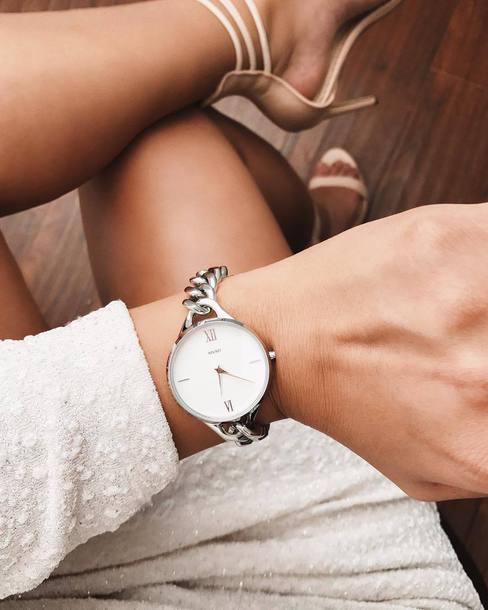 jewels mvmt mvmt watches watch silver watch jewelry accessories Accessory