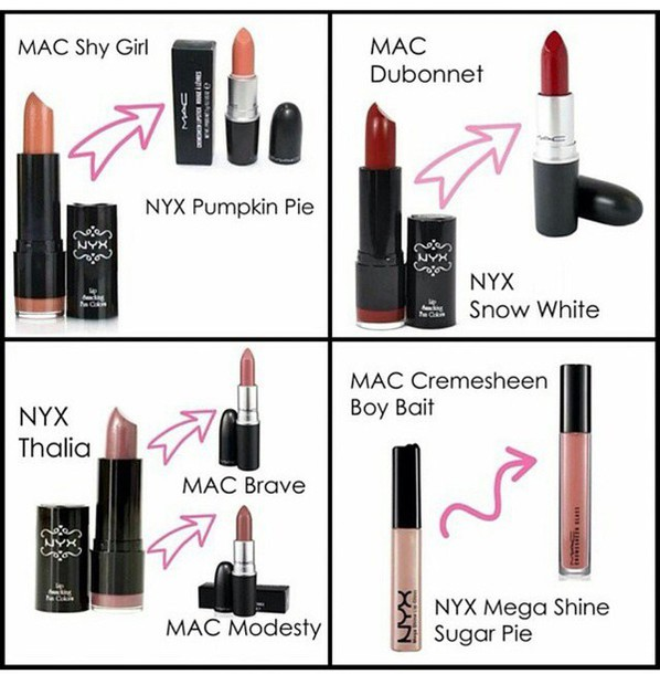 Make Up Lipstick Dupe Mac Lipstick Mac Cosmetics Mac