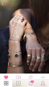 jewels,weed,marijuana,bracelets,jewelry,moon,moon bracelet,gold,earrings,ring,gold midi rings,stacked bracelets,hand jewelry,hand chain,gold jewelry,boho,boho chic,boho jewelry,hand chain ring,ring bracelet,bridal hand chain,silver hand chain,gold hand chain,hair accessory,hand