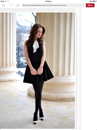 dress black bow