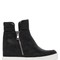 80mm perforated wedge sneaker boots
