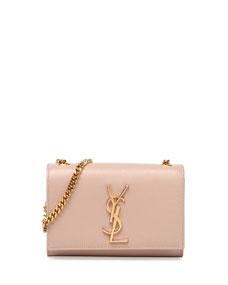 Monogramme Small Crossbody Bag, Pale Blush