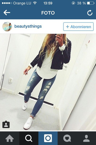 jeans jacket style t-shirt