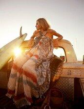 maxi dress,multicolor,dress