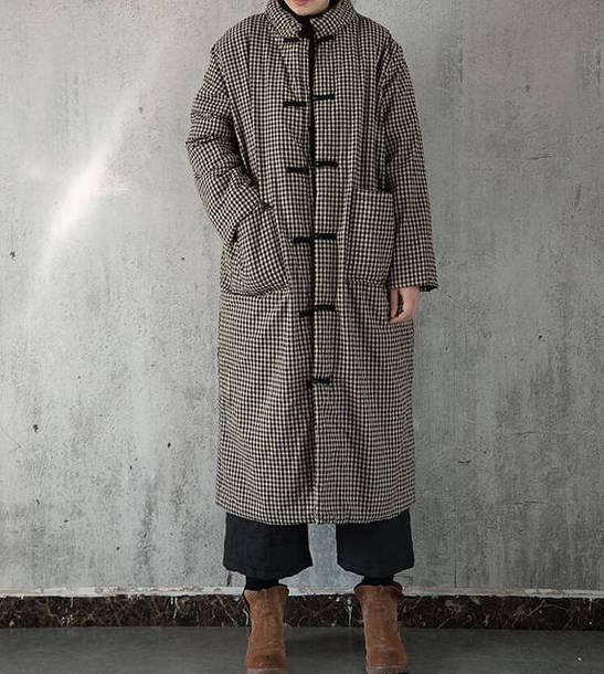 coat padded overcoat