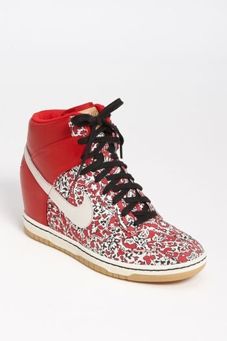 shoes liberty wedge sneakers