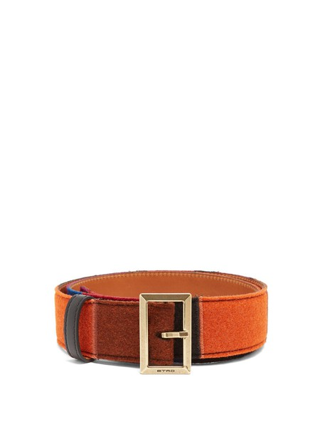 ETRO belt leather