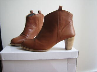 shoes mid heel boots
