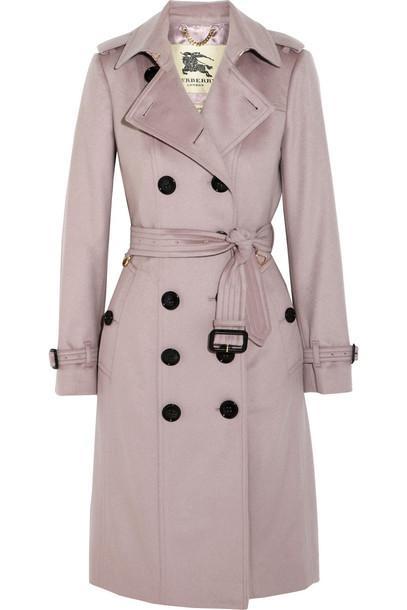 coat trench coat blush