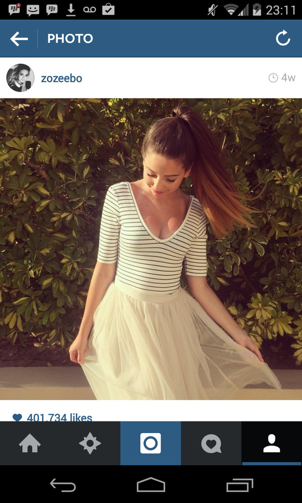 skirt t-shirt zoella