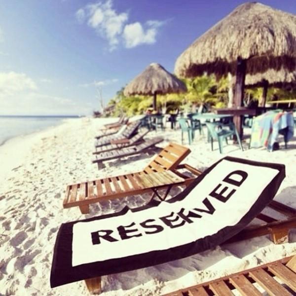 swimwear towel reserved beach towel things summer.