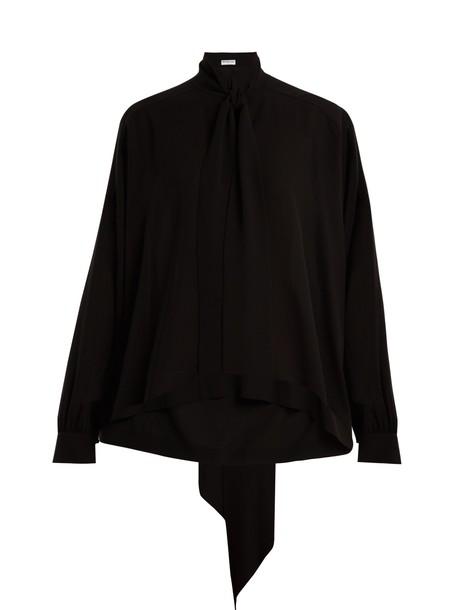 Balenciaga top black