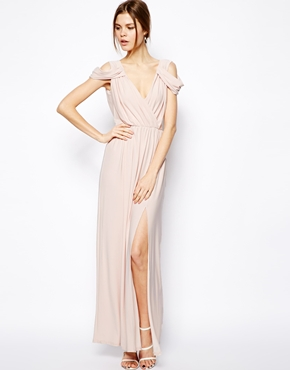 ASOS | ASOS Wrap Front Maxi Dress at ASOS