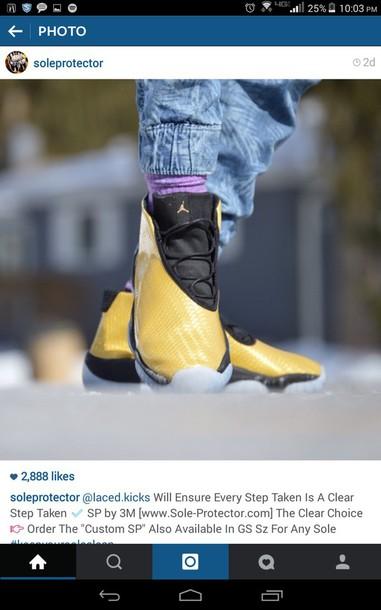 shoes future jordans gold