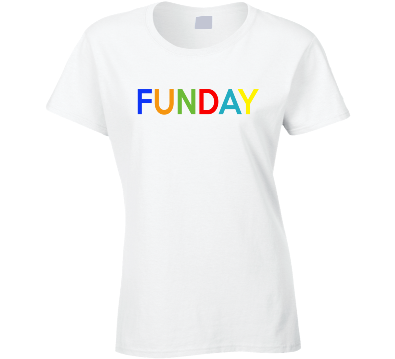Funday Fun Sunday Weekend Warrior Popular Graphic T Shirt