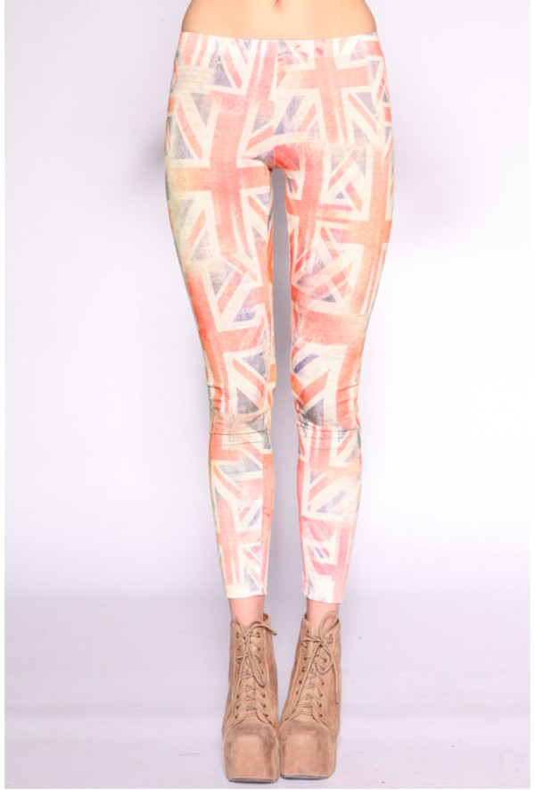 leggings uk flag uk flag print flag print light lightweight lightweight leggings graphic tee quote on it graphic leggings vintage hipster retro washed