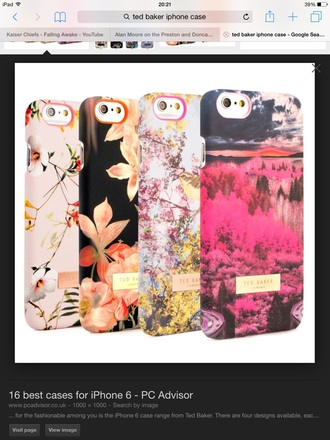 phone cover floral phone case ted baker cherry blossom