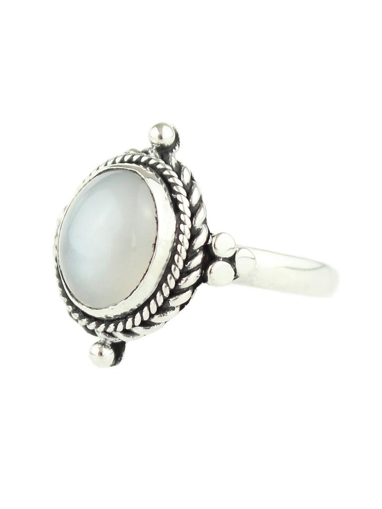 Little Luna Moonstone Ring