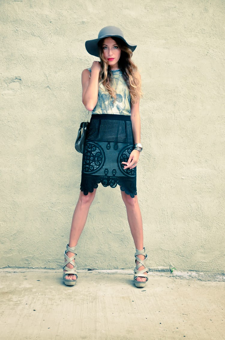 The Marcy Stop: Edgy Lace