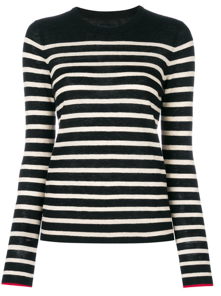 Zadig & Voltaire jumper women stripes black sweater