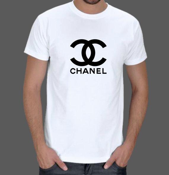 Chanel T shirt Men Tshirt Dad Top by LagaLuga on Etsy