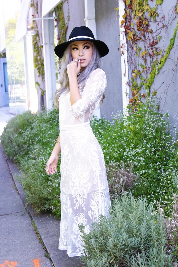 white dress see through dress sexy dress elegant dress streetstyle stylemoi summer outfits