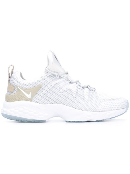 Nike women sneakers leather white cotton shoes