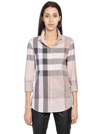 shirt cotton pale top