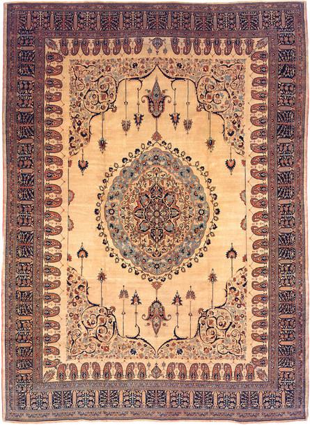 Rug Old Hippie Antique Nazmiyal Tabriz Rug Carpet