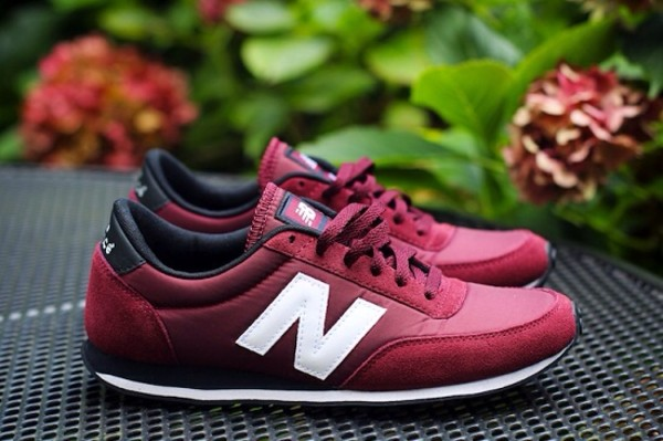shoes new balance burgundy u410