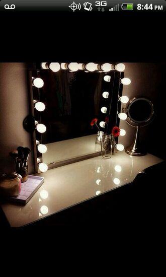 makeup table home accessory home decor lighting lamp bag