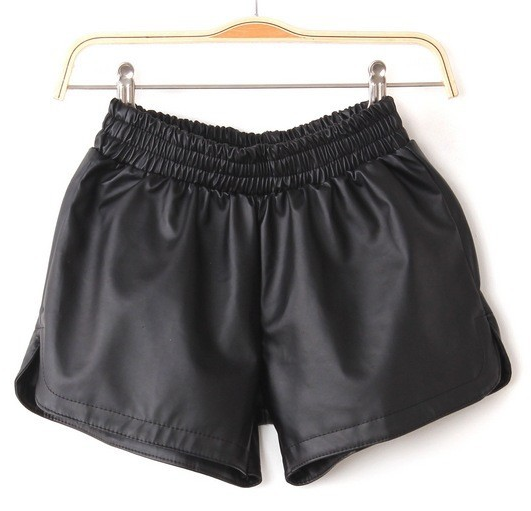 Leather shorts  / big momma thang