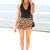 SABO SKIRT  Cheetah Shorts - Brown - 42.0000