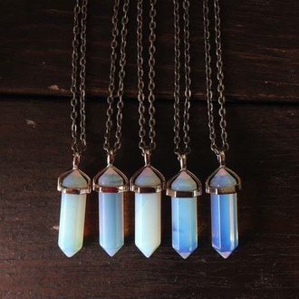 jewels necklace crystal cute jewelry blue ocean blue necklace
