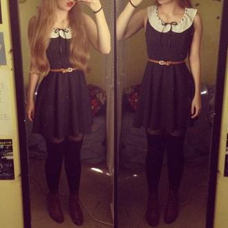 dress cute dresses fashion fabulous style peter pan collar