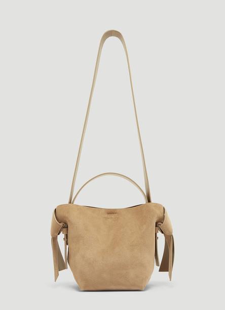 Acne Studios Mini Musabi Bag in Grey size One Size