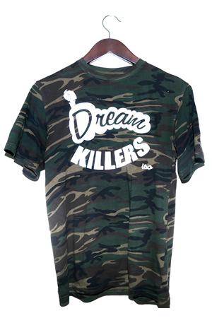 Camo dream killers shirt