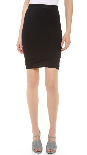 T by Alexander Wang Micromodal Twist Skirt | SHOPBOP