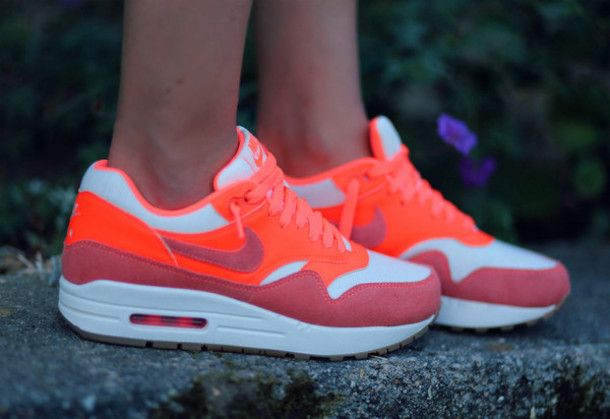 shoes nike airmax 1 mango