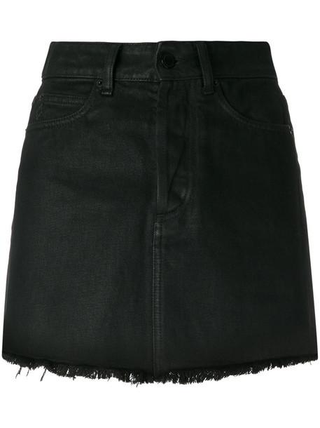 MARCELO BURLON COUNTY OF MILAN skirt mini skirt mini women cotton black