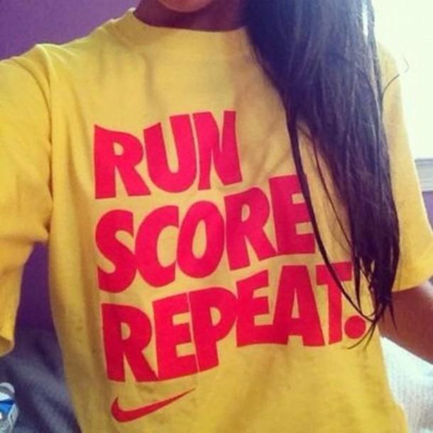 shirt nike soccer just do it trendy