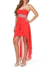 dress,pink dress,diamante dress,formal dress