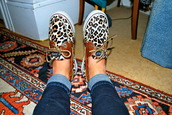 loafers,leopard print,shoes