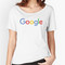 'new google logo' women's relaxed fit t-shirt by papin