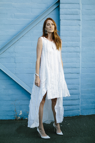 could i have that blogger high-low dresses white dress