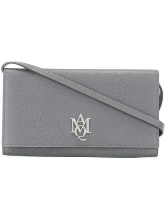 women pouch grey bag