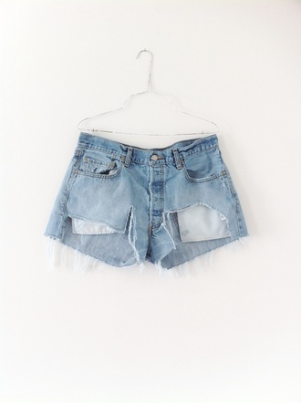shorts levi's distressed shorts